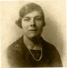 Photo of Woman in Paint and Ink Style.